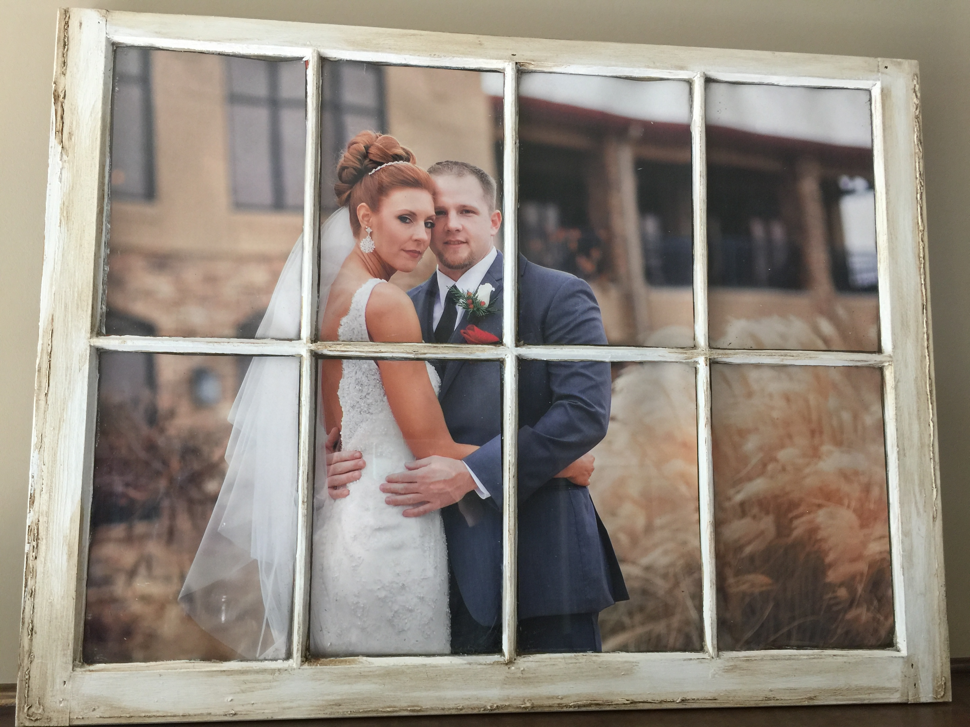 DIY Picture Window using an old window