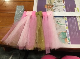 making of the high chair tutu