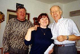 Cousin Katherine and husband Milan