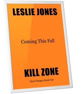 Kill Zone Coming Soon on slanted orange background