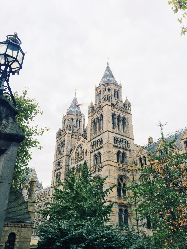 exterior of Natural History Museum