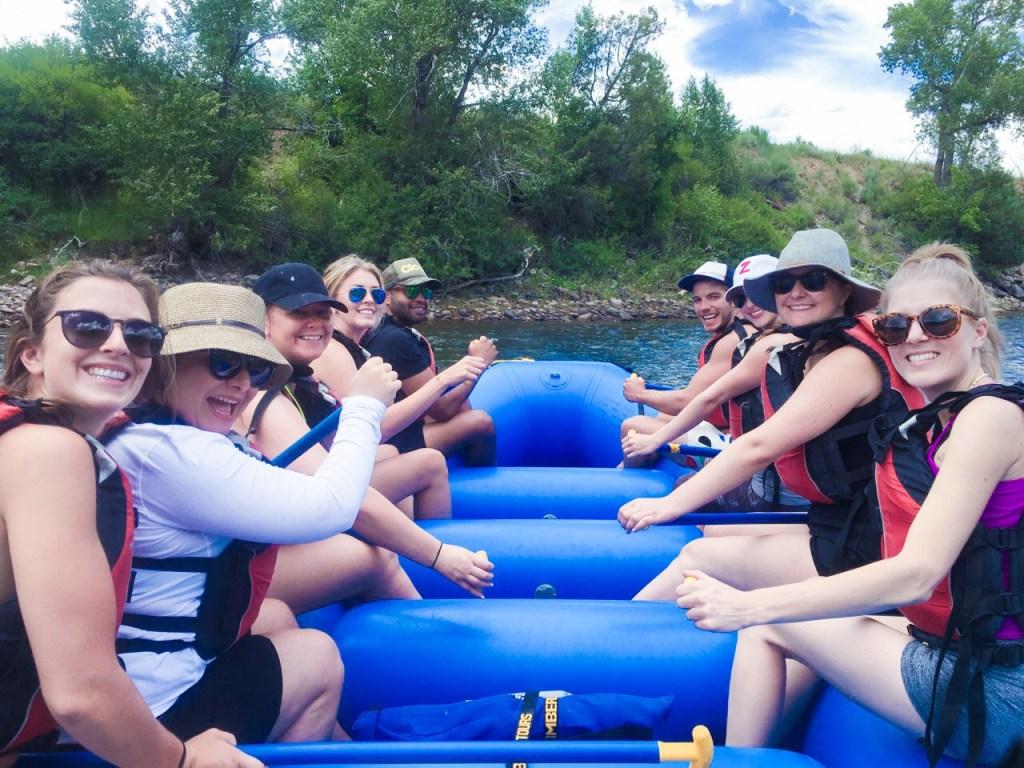 White Water Rafting - Beaver Creek Colorado