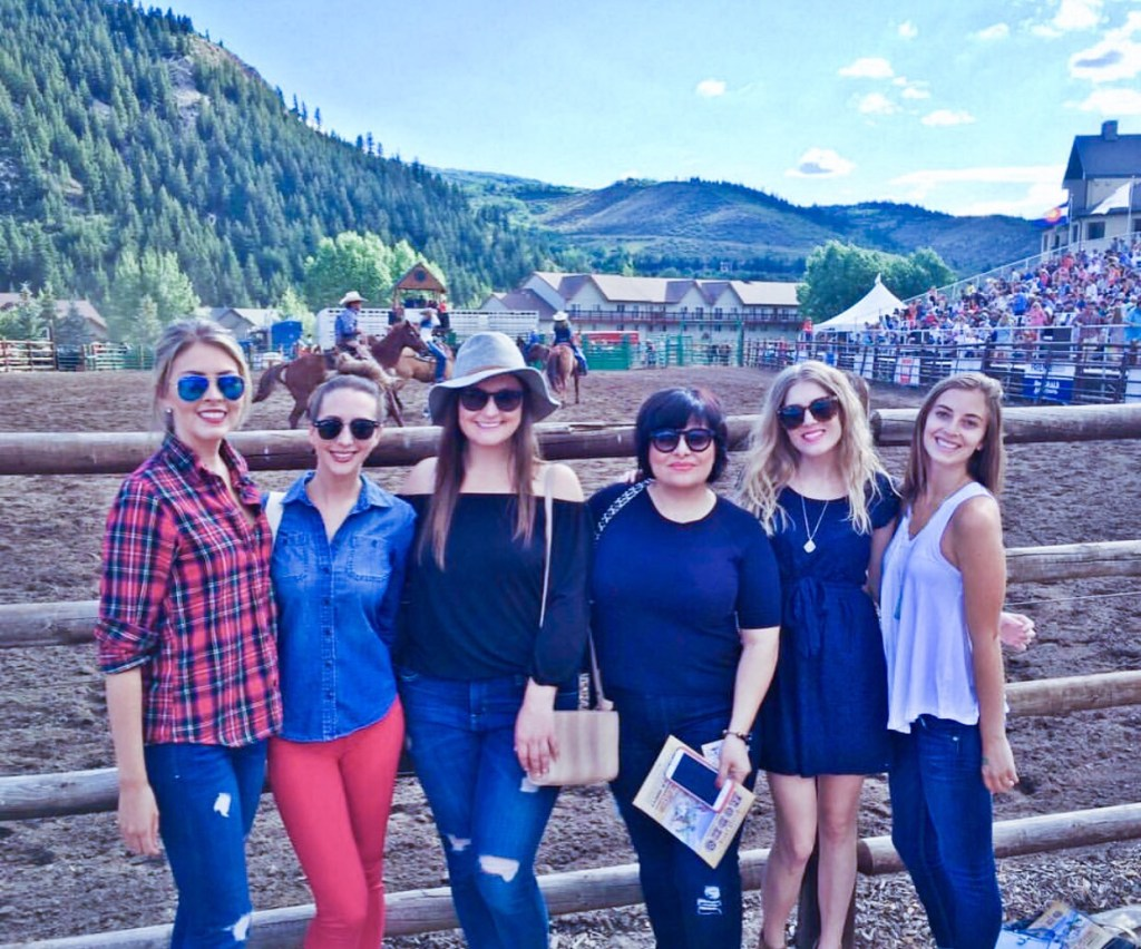 Ladies at the Rodeo - Beaver Creek Lodge