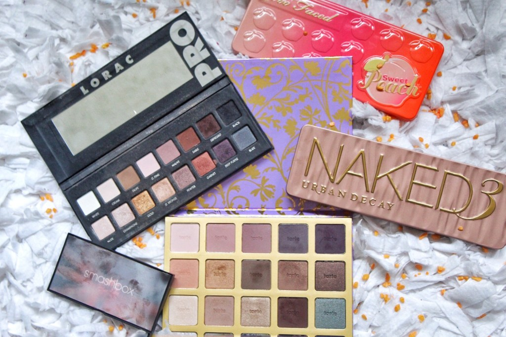 My Top Five Favorite Eyeshadow Palettes