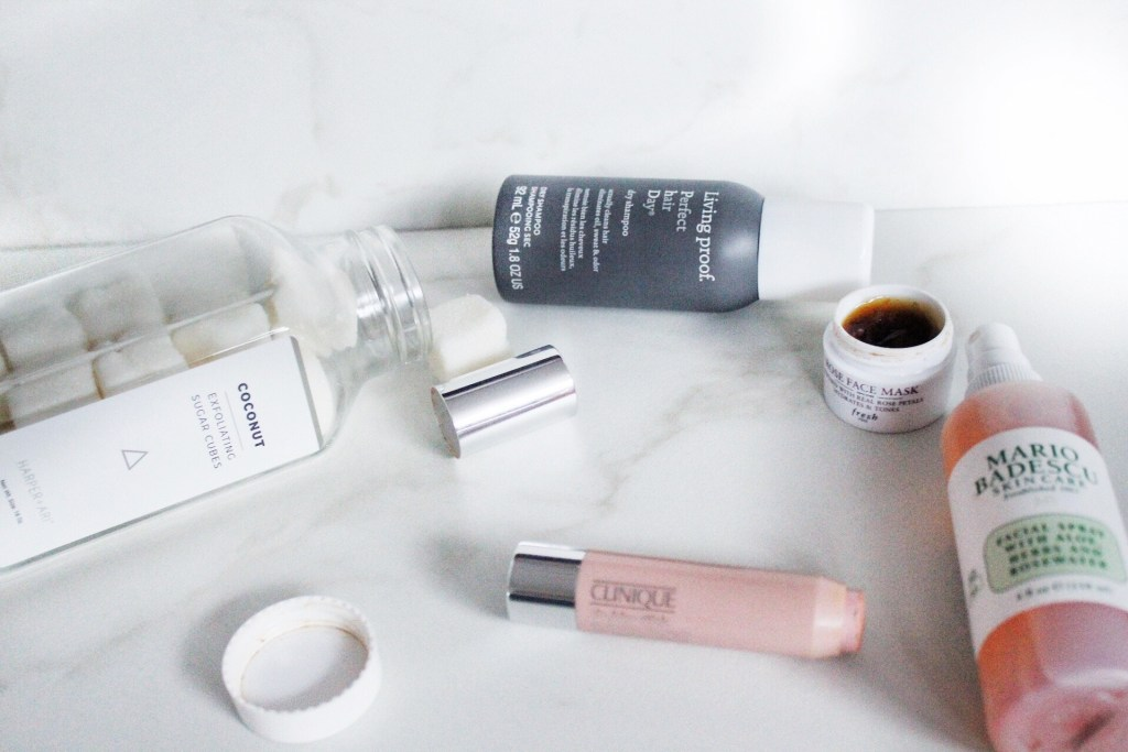 August Favorites : Skin and Hair Products