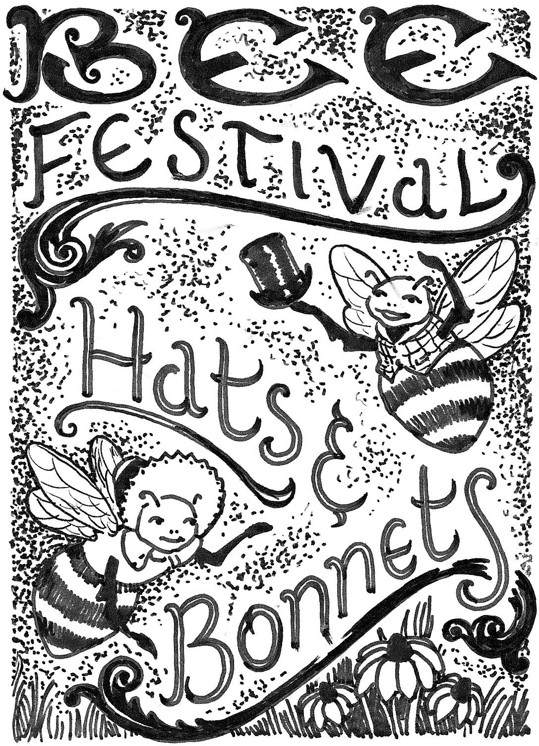 Bee Festival Hats & Bonnets