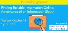 finding reliable information webinar