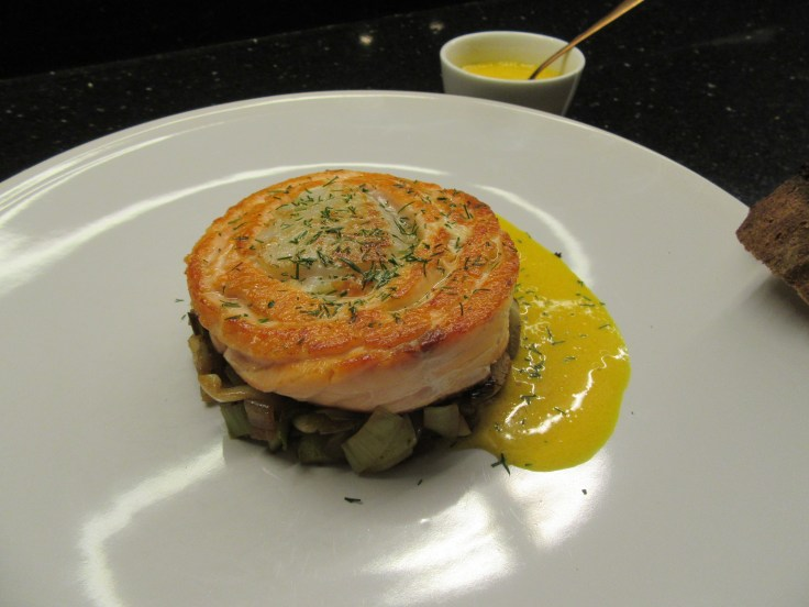 Tournedos de saumon st-jacques