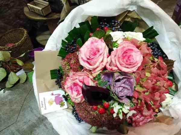 bouquet les fleurs du quai - livraison de fleurs à Grenoble