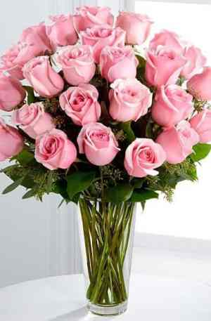 Bouquet de roses (couleurs au choix)