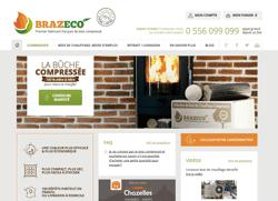 Brazeco, vente de bois compressé en ligne