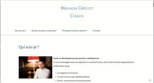 Mahalia Grillot, coach