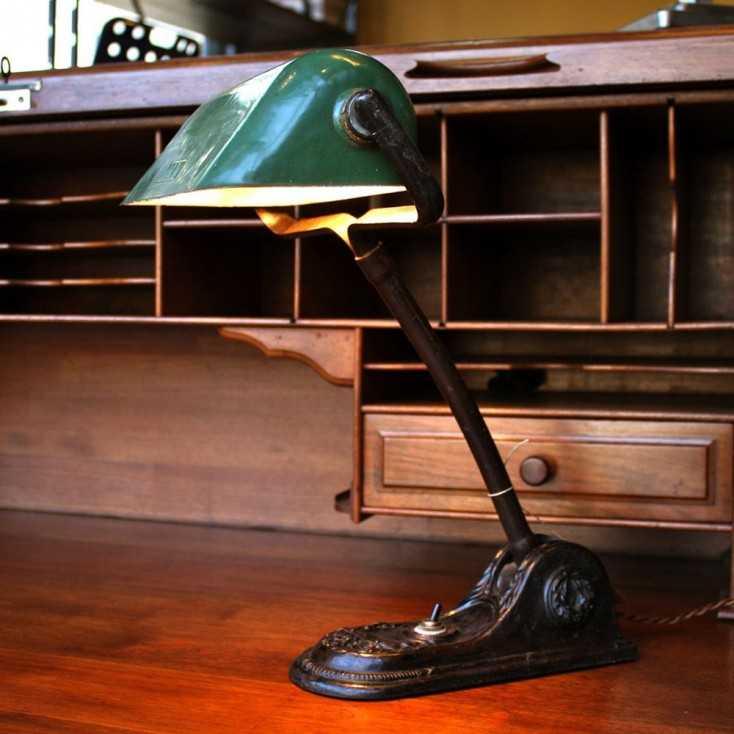 ancienne lampe de notaire niam
