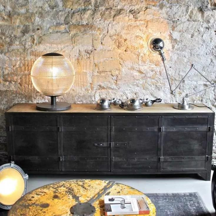 meuble d atelier bois metal