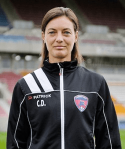 Corinne Diacre. Photo officielle Clermont Foot 63