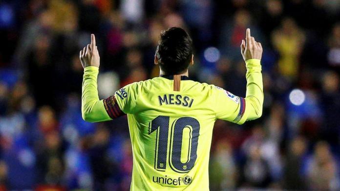 Lionel Messi devient le premier joueur à battre ce record en 2018