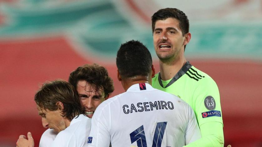 """""""No better goalkeeper than him"""": the Spanish press dazzled by Courtois' match against Liverpool (video)"""