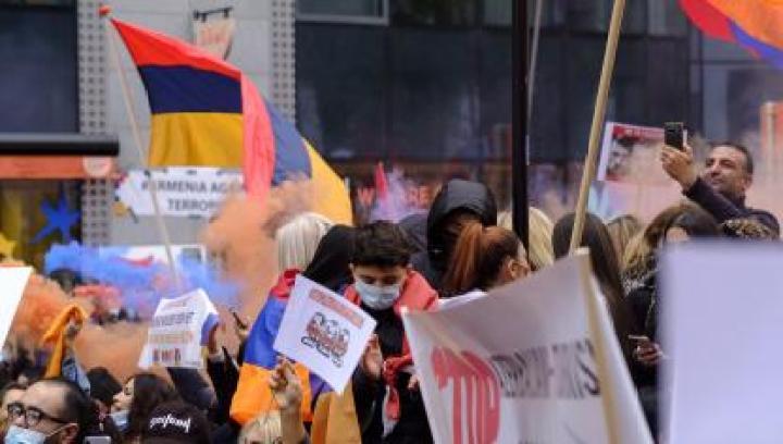 Bruxelles: une importante manifestation à Schuman (photos et vidéos )