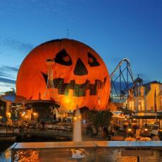 Europa park à Halloween