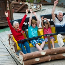 Ruee vers l'or attraction