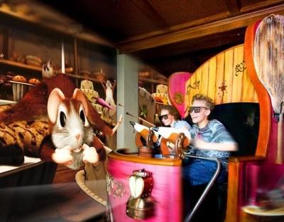 Souris au chocolat attractions