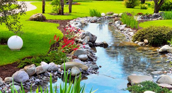 Bassins et jardins modernes et design