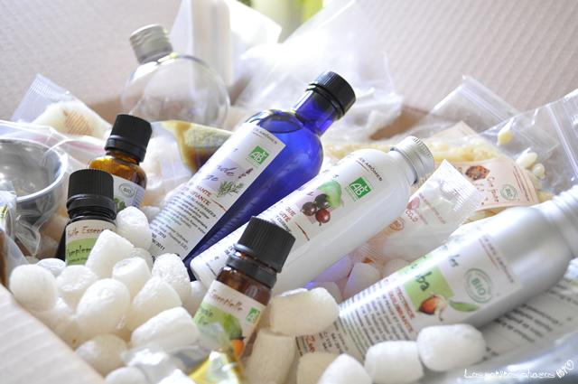 Kit de cosmétique bio maison