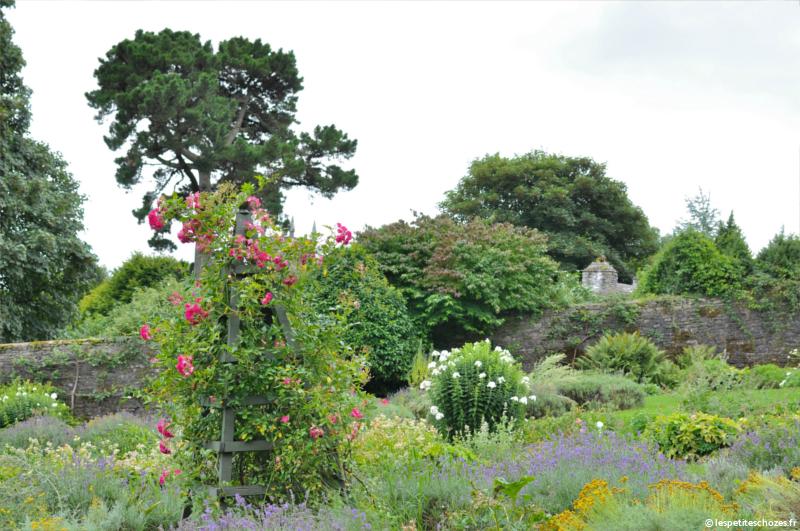 Irlande Bunratty Folk Park Jardin