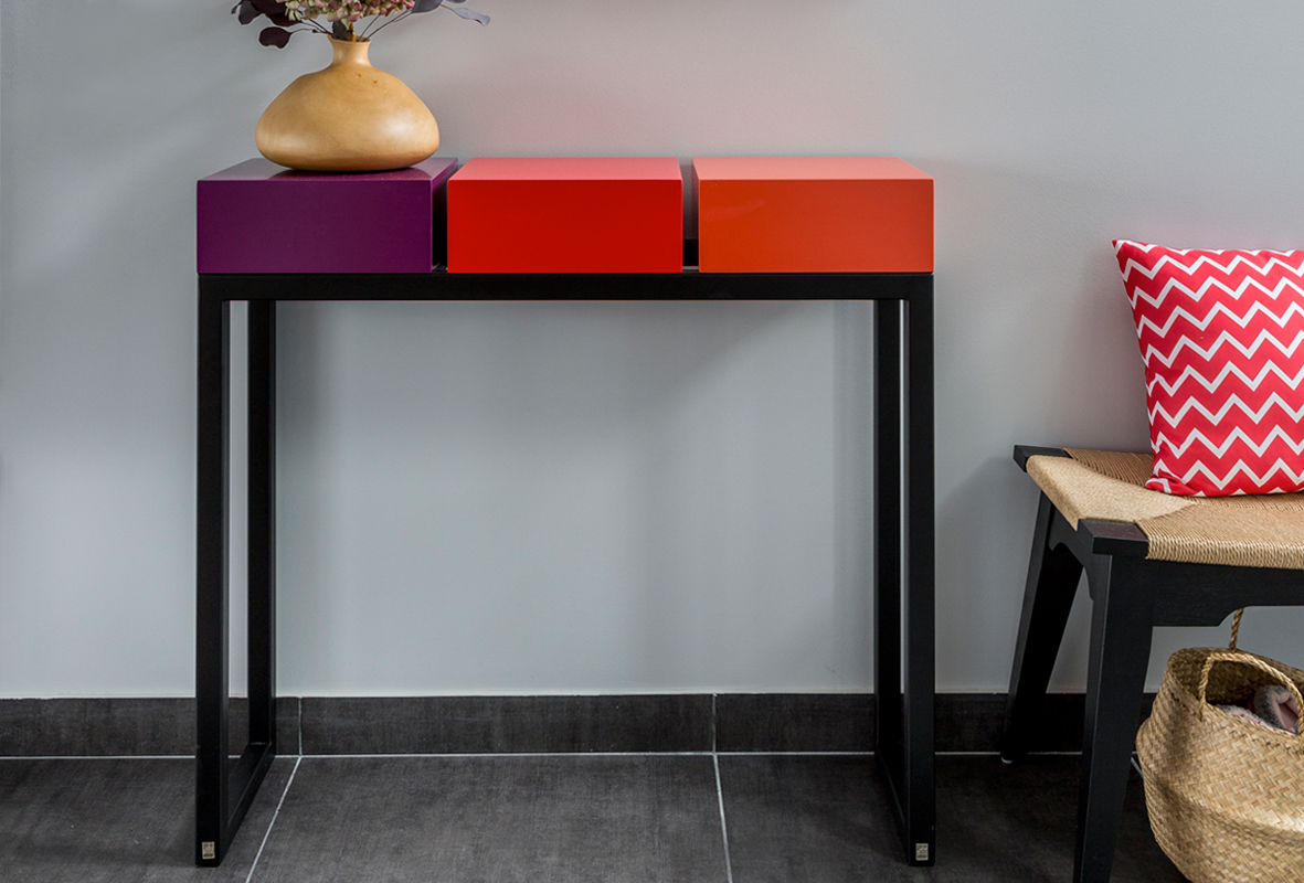 Consoles Design Mobilier Les Pieds Sur La Table