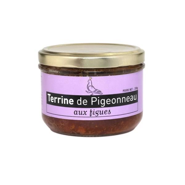 Terrine de pigeonneau aux figues