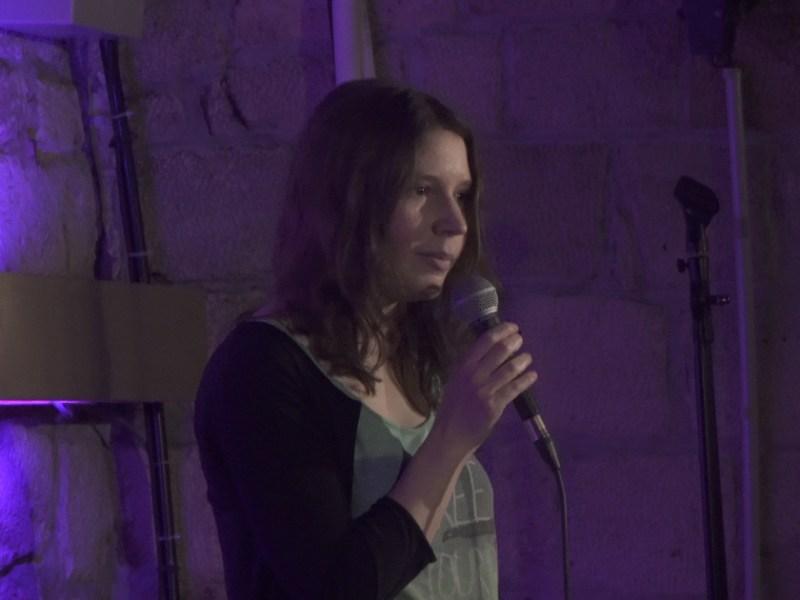 Juliette du spot du rire : première scène au 33 Comedy