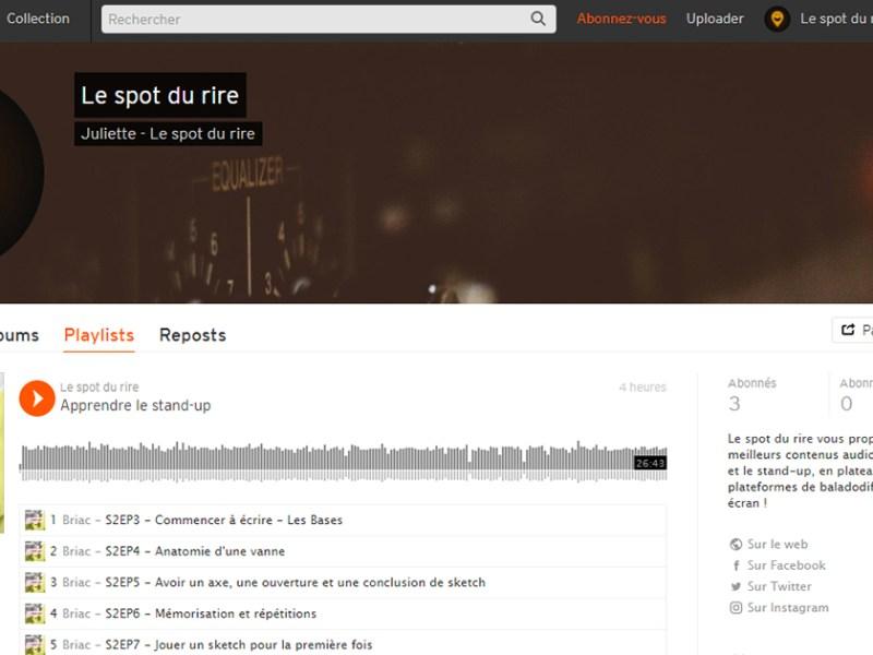 Le spot du rire débarque sur SoundCloud !