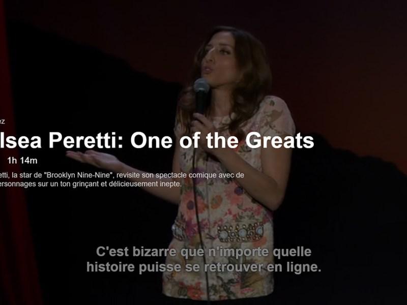 Chelsea Peretti sur Netflix
