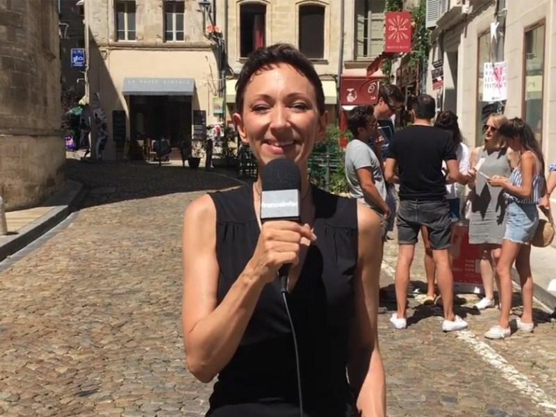 Isabelle Layer, la journaliste humour qui détecte les talents