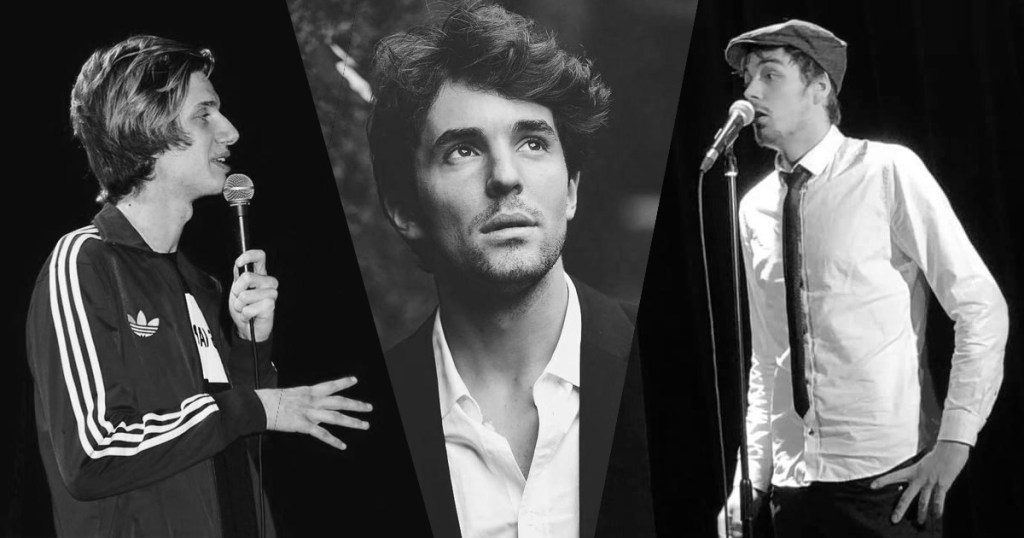 Jeunes artistes humour : Paul Mirabel, Marc Tourneboeuf et Thibaud Agoston