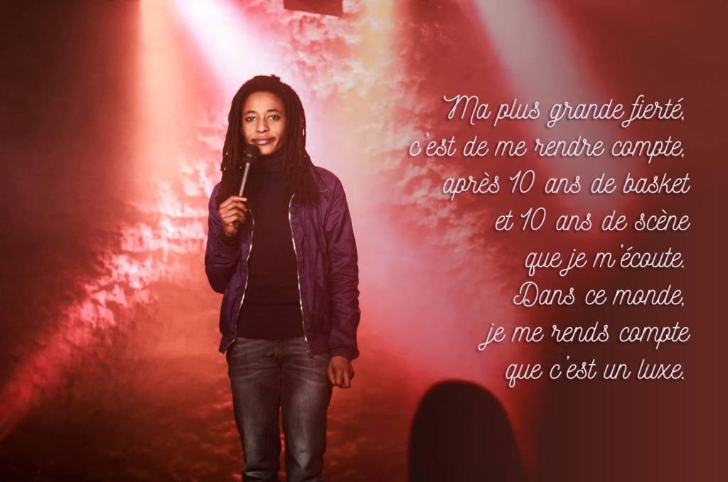 Shirley Souagnon en interview sur Le spot du rire