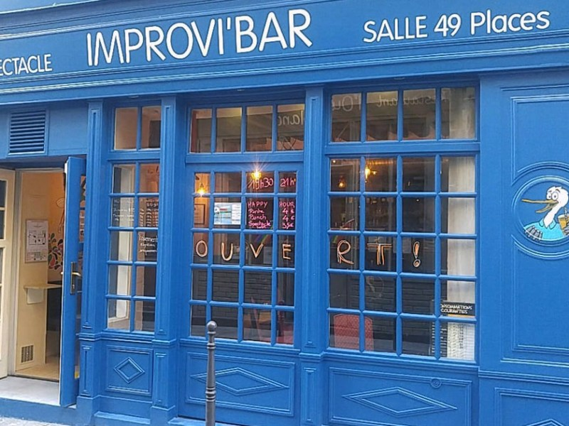 Duos d'impro à l'Improvi'bar : un spectacle authentique