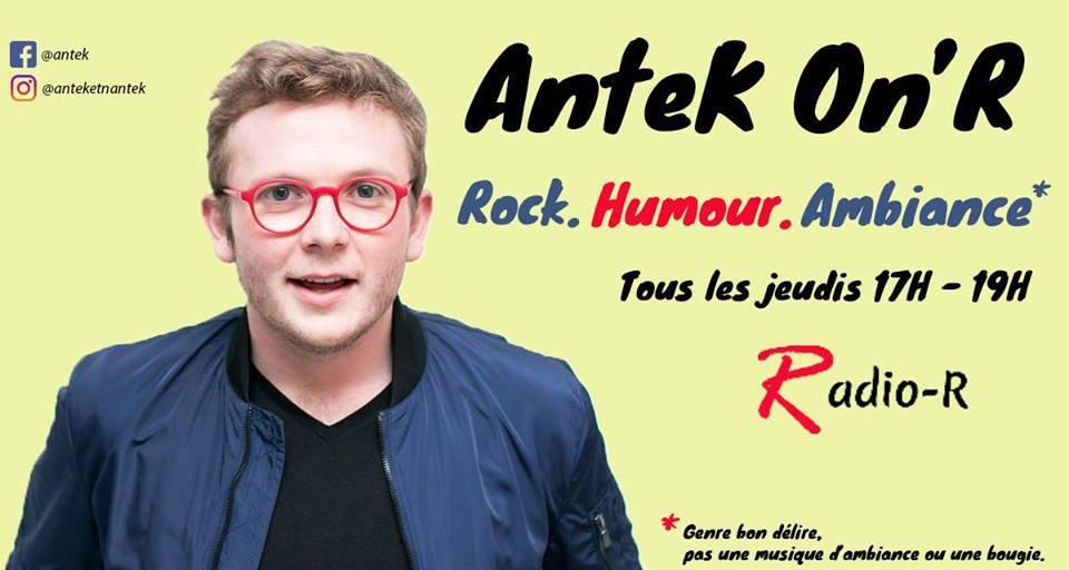 Antek on R, une émission de radio rock, humour et ambiance