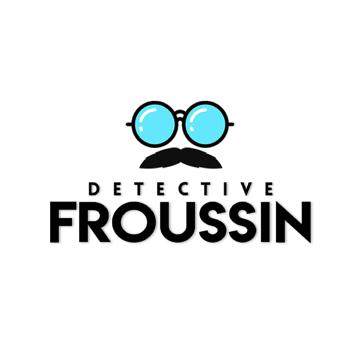 Froussin : Détective Privé - Logo de la saison 4
