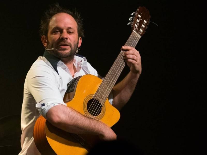 Mathieu Cohin sur scène