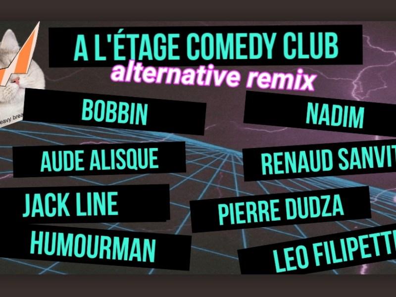 Comédie alternative en France : programmation du premier plateau d'Humourman