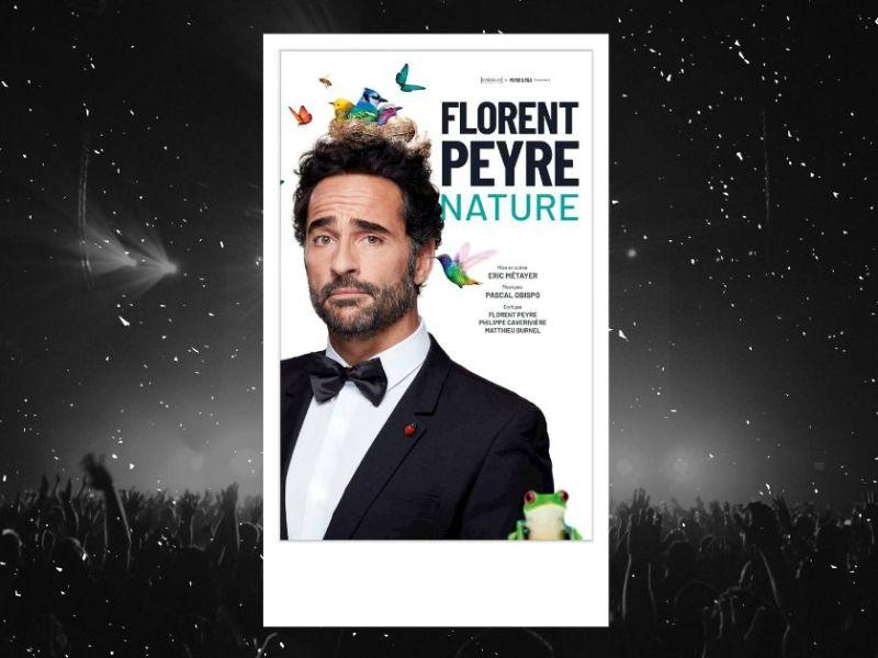 Florent Peyre : affiche du spectacle Nature au Théâtre Trévise
