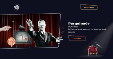 Pasquinade : la plateforme d'humour libre signée Haroun