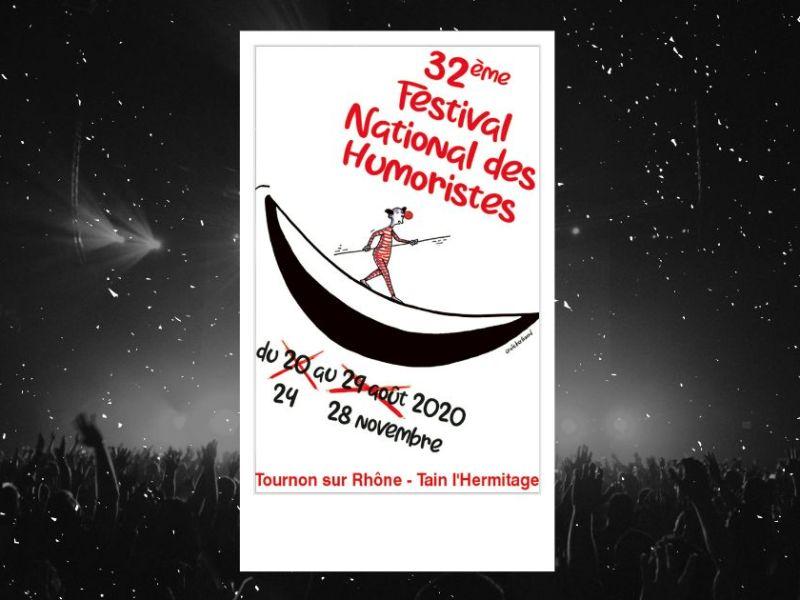 Tournon-sur-Rhône : affiche du festival d'humour 2020