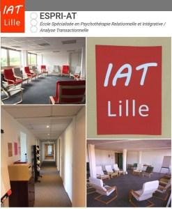 Formation de Psychopraticien en Analyse Transactionnel à Lille @ IAT Lille Centre Vauban – Entrée Rochefort – 4ème étag