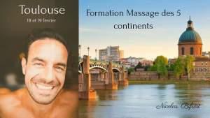 Formation Massage des 5 continents hypnotique Toulouse