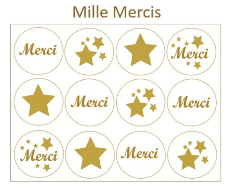 Les Prodigieux  mille mercis x12