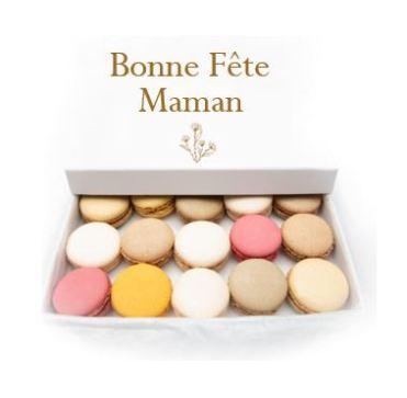 Les Prodigieux - Fête des mères Kuure  macarons non persnnalisés x15