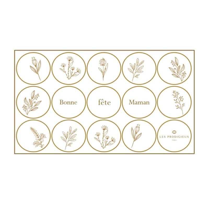 Les Prodigieux - Fête des mères motifs Kuure x15