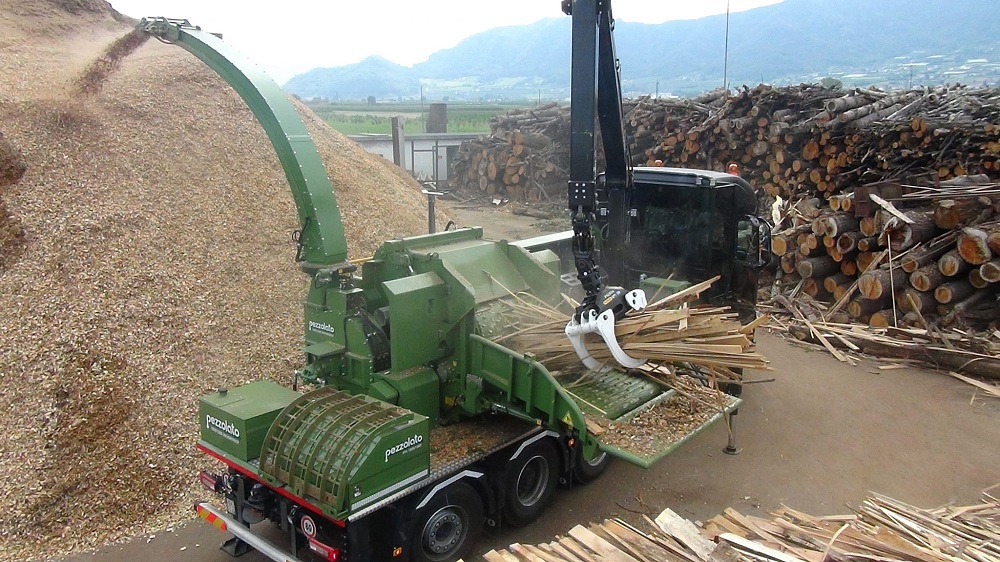 Pezzolato delivered drum wood chipper to Rimorini Legnami in Italy
